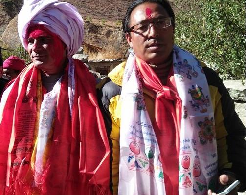 CPN UML Nandasing and Dhan bahadur