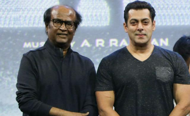 Salman Khan and Rajani Kant