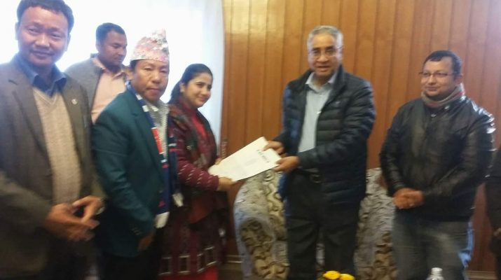 Prime Minister of Nepal -Sher Bahadur Deuba