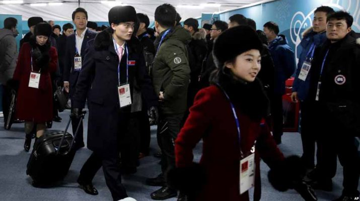 North n korean team
