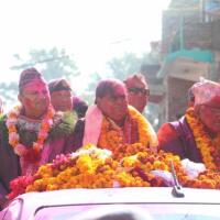 Baam Gathabandhan Rally in Dang Nepal