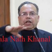 Jhala Nath Khana - Nepali Politician