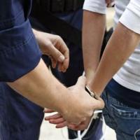 Police Arresting Criminal