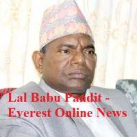 Political Leader Lal Babu Pandit
