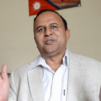 Communist Leader Shankar Pokharel
